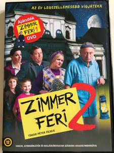 Zimmer Feri 2 DVD 2010 Ajándék: Zimmer Feri 1 / Directed by Tímár Péter / Starring: Reviczky Gábor ,Pogány Judit, Szarvas József, Kovács Vanda / Hungarian comedy films - 2DVD (5999553590326)