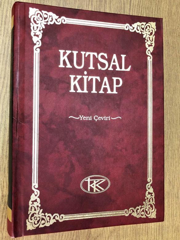 Kutsal Kitap (Turkish Edition) [Hardcover] by American Bible Society / Turkish Language Holy Bible / Turkey (9789754620467)