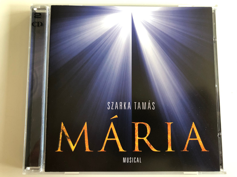 Szarka Tamas - Maria, musical / Magneoton 2x Audio CD 2012 / 5999885533046