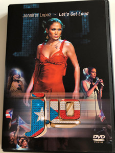 J. Lo - Jennifer Lopez - Let's Get Loud DVD 2003 / Directed by Hamish Hamilton / Play, I'm Real, If You had my Love, Love Don't Cost A thing / Epic Records (5099705413791)