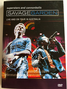 Savage Garden - Superstars and Cannonballs DVD 1999 Live and on Tour in Australia / Directed by Mark Adamson / Bonus Documentary: Parallel Lives / 3 Bonus Music Videos (5099705401897)