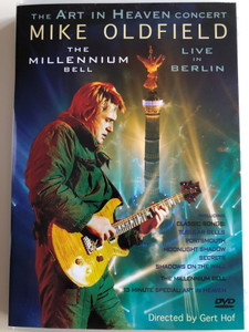 Mike Oldfield - The Art in Heaven Concert DVD The Millenium Bell / Live in Berlin / Directed by Gert Hof / Classic Songs: Tubular Bells, Portsmouth, Moonlight Shadow / 13 minute Special: Art in Heaven (685738822027)