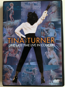 Tina Turner - One last time Live in Concert DVD 2000 Filmed at Webmley Stadium / With Exclusive backstage interview and behind the scenes / Eagle Vision (5034504916173)
