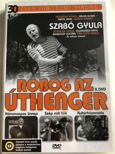 Robog az Úthenger II. DVD 1977 / 30 éves jubileumi kiadás / Directed by Bednai Nándor / Háromnapos ünnep, Szép volt fiúk, Kultúrházavatás / Episodes 4-6 (5990502068507)