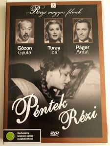 Péntek Rézi DVD 1938 Rézi Friday / Directed by Vajda László / Starring: Turay Ida, Erdélyi Mici, Páger antal, Rajnay Gábor / Régi magyar filmek 7. / Hungarian B&W Classic comedy (5999882685014)