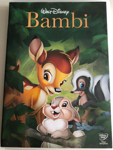 Bambi DVD 1942 / A mese, amelyből megtanultuk, hogy nincs fontosabb a barátságnál és a családnál / Directed by David Hand, James Algar / Based on Felix Salten's novel / 2013 release / Digitally remastered Video and Sound (5996255735598)