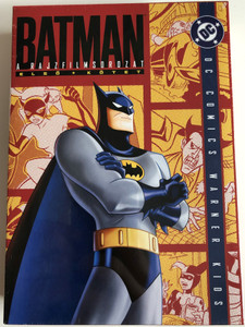 Batman Animated Series Vol 1. Season 1 DVD SET 2006 Batman a rajzfilmsorozat 1. kötet - 4 lemez / Directed by, Bruce W. Timm, Eric Radomski / VA: Kevin Conroy, Efrem Zimbalist Jr., Bob Hastings, Robert Costanzo / DC Comics 4 DVD Episodes 1-28 (5999048906182)