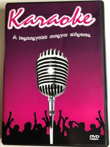 Karaoke - A legnagyobb magyar slágerek DVD 2005 The Greatest Hungarian Hits Karaoke / Baby Gabi & Lala, Balázs Fecó, Beatrice, Edda, Bergendy, Hooligans, LGT, Republic / EMI (0094634658799)