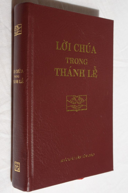 Vietnamese Catholic Missal Book / Lời chúa trong thánh LỄ / Nhá xuất Bản Tôn Giáo / Hardcover 2015 (9786046128199)