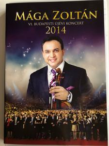 Mága Zoltán - VI. Budapesti Újévi Koncert DVD 2014 / Tom-Tom Records / TTDVD 206 / Budapest New Year's Concert 2014 (5999524962237)