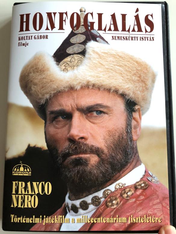 Honfoglalás DVD 1996 The Conquest / Directed by Koltay Gábor / Starring: Franco Nero / Történelmi játékfilm a millecentenárium tiszteletére / Historical film about the conquest of Hungary (Honfoglalás1996DVD)