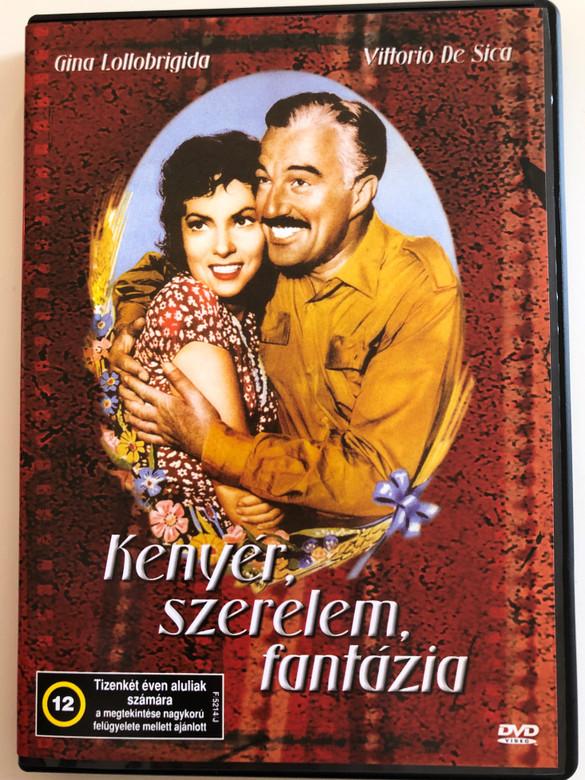 Pane, Amore e Fantasia DVD 1953 Kenyér, szerelem, fantázia (Bread, Love and Dreams) / Directed by Luigi Comencini / Starring: Vittorio De Sica, Gina Lollobrigida (5996051438594)
