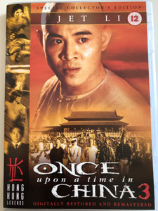 Once upon a time in china 3 DVD / Special Collector's Edition / Directed by Tsui Hark / Starring: Jet Li, Rosamund Kwan, Max Mok, Lau Shun (5032438505951)