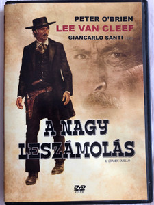 Il Grande Duello DVD 1972 A nagy leszámolás (The Grand Duel) / Directed by Giancarlo Santi / Starring: Lee Van Cleef, Alberto Dentice, Jess Hahn, Horst Frank (5999883341070)
