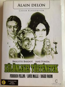 Histoires Extraordinaires DVD 1968 Különleges történetek (Spirits of the Dead) / Directed by Federico Fellini / Starring: Jane Fonda, Terence Stamp, Brigitte Bardot, Peter Fonda, Alain Delon (5999882974453)