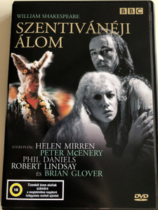 A Midsummer Night's Dream DVD 1981 Szentivánéji álom / BBC / Directed by Elijah Moshinsky / Starring: Helen Mirren, Peter McEnery, Phil Daniels, Robert Lindsay (5996357325536)