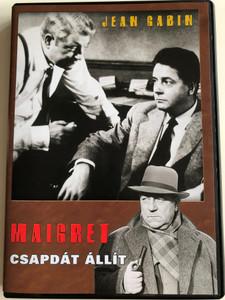 Maigret tend un Piége DVD 1958 Maigret csapdát állít (Maigret Sets a Trap) / Directed by Jean Delannoy / Starring: Jean Gabin, Annie Girardot, Olivier Hussenot, Jeanne Boitel (5999546331509)