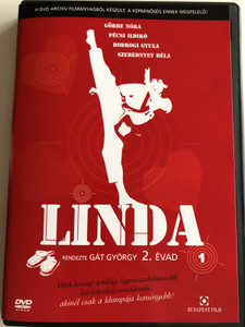 Linda Sorozat 2 évad 1. DVD 1983 Hungarian TV Series - Season 2, Disc 1 / Directed by Gát György / Starring: Görbe Nóra, Szerednyey Béla, Bodrogi Gyula, Pécsi Ildikó (5999544251830)