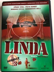Linda Sorozat 1. évad 3. DVD 1983 Hungarian TV Series - Season 1 - Disc 3 / Directed by Gát György / Starring: Görbe Nóra, Szerednyey Béla, Bodrogi Gyula, Pécsi Ildikó (5999544243019)