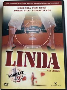 Linda Sorozat 1 Évad 2. DVD 1983 Hungarian TV Series Season 1 Disc 2 / Directed by Gát György / Starring: Görbe Nóra, Szerednyey Béla, Bodrogi Gyula, Pécsi Ildikó (5999544243002)