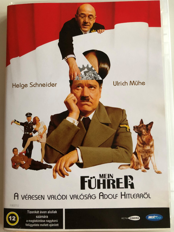 Mein Führer DVD 2007 Die wirklich wahrste Wahrheit über Adolf Hitler / Directed by Dani Levy / Starring: Helge Schneider, Ulrich Mühe / A véresen valódi valóság Adolf Hitlerről (5998133172037)