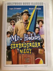 Mr. Hobbs Takes a Vacation DVD 1962 Mr. Hobbs Szabadságra megy / Directed by Henry Koster / Starring: James Stewart, Maureen O'Hara (5999546334197)