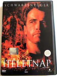 End of Days DVD 1999 Ítéletnap / Directed by Peter Hyams / Starring: Arnold Schwarzenegger, Gabriel Byrne, Kevin Pollak, Robin Tunney, Rod Steiger (5996255703801)