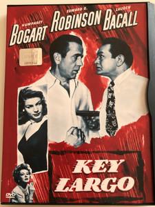 Key Largo DVD 1948 / Directed by John Huston / Starring: Humphrey Bogart, Edward G. Robinson / B&W american film noir (5996255703832)