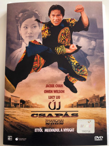 Shangai Noon DVD 2000 Új csapás / Directed by Tom Dey / Starring: Jackie Chan, Owen Wilson, Lucy Liu (5996255705553)