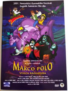 Marco Polo: Return to Xanadu DVD 2001 Marco Polo: Vissza Xanaduba / Directed by Ron Merk / Starring: Paul Ainsley, Alan Altshuld, Nicholas Gonzalez (5996357342014)