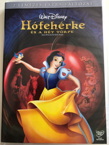 Snow White and the Seven Dwarfs - 2 disc Special Edition 2DVD 1937 Hófehérke és a hét törpe - 2 lemezes extra változat / Directed by Ben Sharpsteen, David Hand, Perce Pearce / Starring: Adriana Caselotti, Lucille La Verne, Harry Stockwell (5996255730043)
