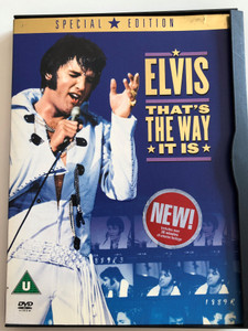 Elvis - that's the way it is DVD Special Ediiton / Directed by Denis Sanders / Over 30 minutes of unseen footage (7321900650588)