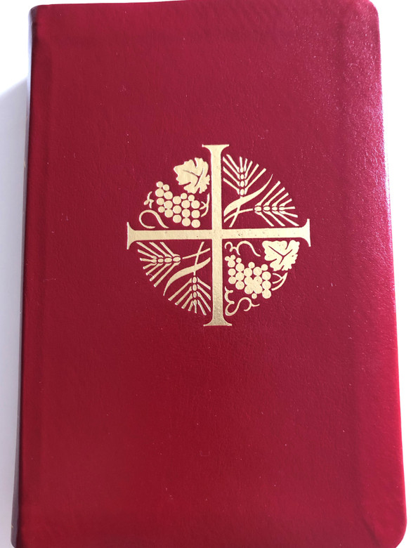 Biblían / Heilög Ritning / Icelandic Holy Bible with deuterocanonical books / Catholic Bible / Gamla Testamentiđ Ásamt Apókryfu Bókunum Nyja Testamentiđ / Leatherbound Red 2012 (9789979798804)