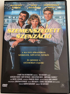 Switching Channels DVD 1988 Szemenszedett Szenzáció / Directed by Ted Kotcheff / Starring: Kathleen Turner, Burt Reynolds, Christopher Reeve, Ned Beatty (5999881067590)