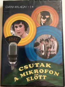Csutak a Mikrofon előtt DVD 1977 Csutak-Kalocsai 1:0 / Directed by Katkics Ilona / Starring: Perlusz Péter, Balogh F. Gábor, Radnai György, Tóth Tibor, Krajczár György / Hungarian youth movie (5999546333916)