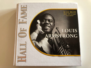Louis Armstrong ‎– Hall Of Fame / Past Perfect Jazz Line ‎5x Audio CD 2002 / 220179