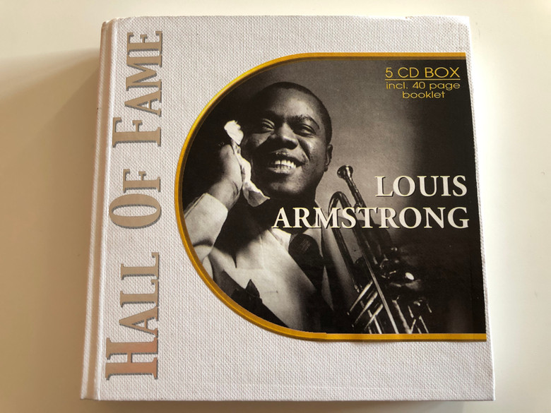 Louis Armstrong – Hall Of Fame / Past Perfect Jazz Line 5x Audio CD 2002 / 220179