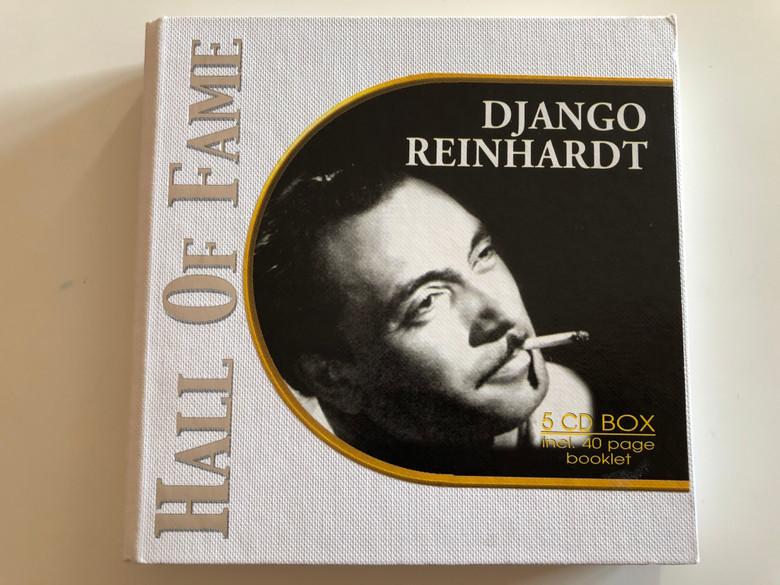 Django Reinhardt – Hall Of Fame / Past Perfect Jazz Line 5x Audio CD 2002 / 220167