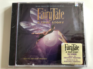 Music From The Motion Picture - FairyTale: A True Story / Music by Zbigniew Preisner / Performed by Sinfonia Varsovia / Icon Records Audio CD 1997 / 92790-2