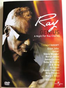 Ray - Genius DVD A night for Ray Charles / Ray Charles Tisztelet koncert / Featuring Elton John, Usher, Stevie Wonder, Norah Jones, Al Green / Universal Music (5050582320442)