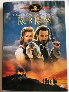 Rob Roy DVD 1995 / Directed by Michael Caton-Jones / Starring: Liam Neeson, Jessica Lange / Biographical historical drama (5996255719925)