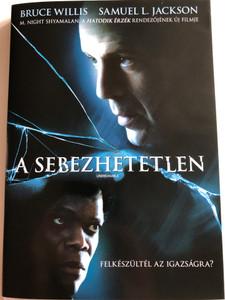 Unbreakable DVD 2000 A Sebezhetetlen / Directed by M. Night Shyamalan / Starring: Bruce Willis, Samuel L. Jackson, Robin Wright Penn (5996255707540)