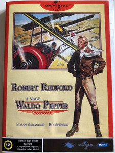 The Great Waldo Pepper DVD 1975 A nagy Waldo Pepper / Directed by George Roy Hill / Starring: Robert Redford, Bo Svenson, Margot Kidder, Bo Brundin (5998133196538)