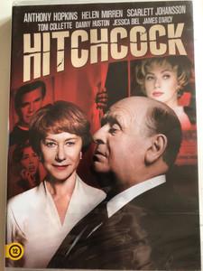 Hitchcock DVD 2012 / Directed by Sacha Gervasi / Starring: Anthony Hopkins, Helen Mirren, Scarlett Johansson, Toni Collette, Danny Huston, Jessica Biel (5996255738391)
