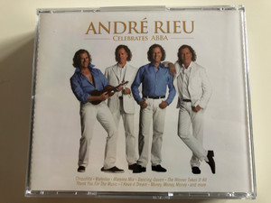 André Rieu ‎– Celebrates ABBA, Music Of The Night / Chiquitita, Waterloo, Mamma Mia, Dancing Queen / I don't Know How To Love Him, Yesterday, On My Own, Ben / Andre Rieu Productions 2x Audio CD 2013 / LC 00309