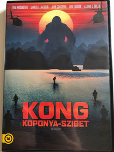 Kong: Skull Island 2 DVD 2017 Box Kong - Koponya-Sziget / Directed by Jordan Vogt-Roberts / Starring: Tom Hiddleston, Samuel L. Jackson, John Goodman, Brie Larson, Jing Tian (5996514047066)