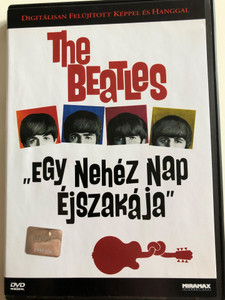 """The Beatles - A hard day's night DVD 1999 """"Egy nehéz nap éjszakája"""" / Directed by Richard Lester / And I Love Her, Can't Buy Me Love, The Show must go on / Digitally Remastered Video and Audio (5996217490770)"""