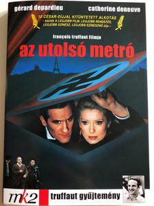 Le Dernier Metro DVD 1980 Az utolsó metró (The Last Metro) / Directed by Francois Truffaut / Starring: Catherine Deneuve, Gérard Depardieu, Jean Poiret (5999546330519)