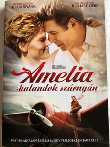 Amelia DVD 2009 Amelia - kalandok szárnyán / Directed by Mira Nair / Starring: Hilary Swank, Richard Gere, Ewan McGregor (5996255730616)