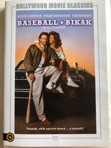 Bull Durham DVD 1988 Baseball Bikák / Directed by Ron Shelton / Starring: Kevin Costner, Susan Sarandon, Tim Robbins (5999546335866)